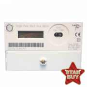 Landis Amp Gyr E100 5235a 5196 Single Phase Electric Meter