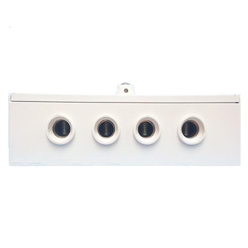 Landis Gyr E100 5235A single phase electric meter bottom view
