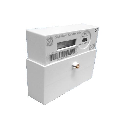 Landis Gyr 5235A single phase electric meter side
