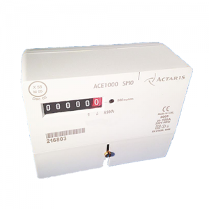 Actaris ACE1000 electric meter single phase top view