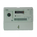 Iskra M160 single phase electric meter front