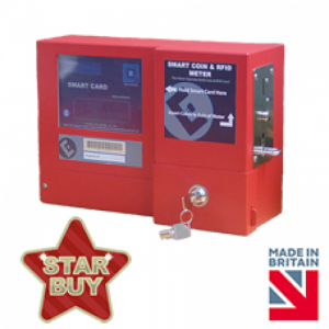 Coin prepayment electricity meter with side / front fixing - star buy