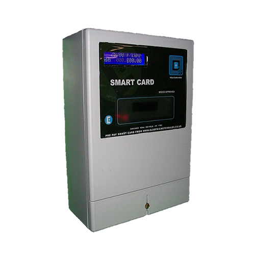Contactless smart card meter