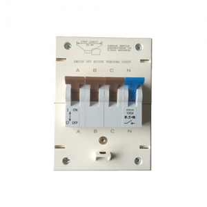 4-pole Eaton ATNN100 Isolator 100amp