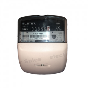 Elster J11B2A Single Phase electric meter front view