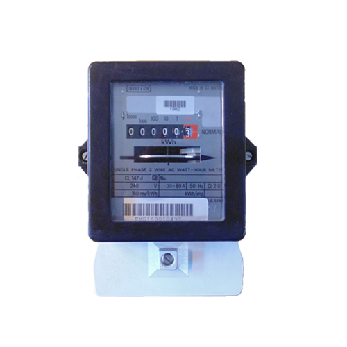 Single Phase Electric Meter : Ferranti f q single phase electric meter sales