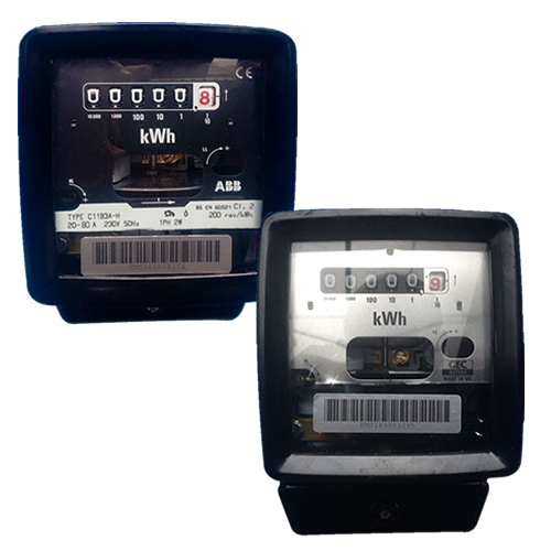 GEC C11B2 and C11B3 Single Phase electric meters
