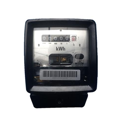 Single Phase Electric Meter : Gec c b single phase electric meter