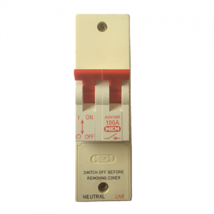 MEM Eaton 100A 2 pole isolator switch