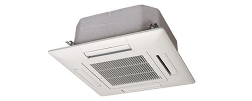 Air conditioning units with contactless electric meters