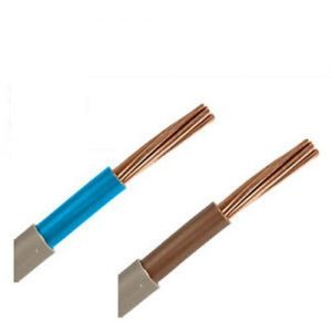 Blue meter tails cable 6181Y double insulated 16mm and 25mm