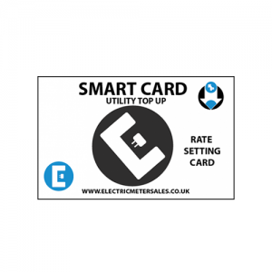 Smart card rate setting card by Electric Meter Sales