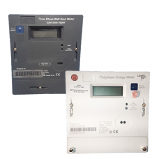 Landis and Gyr 5219 and Ampy 5192 three phase electricity meters